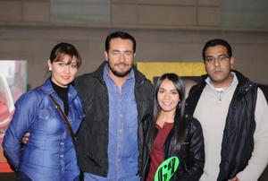 13122015 Graciela, Sergio, Fernanda y Jorge.
