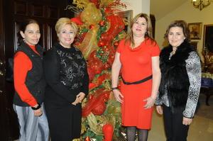 12122015 Nonis, Marisa, Marisol y Carmelita.