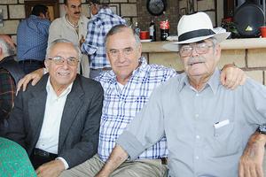 12122015 Armando Fernández, Armando Sifuentes y Cuate Fernández.