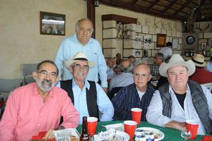 12122015 Efraín Salazar, Francisco Sepúlveda, Ernesto Mesta, Francisco Cavazos y Gerardo Milán.