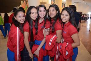 15122015 Diana, Fernanda, Mariana, Ana Paula y América.