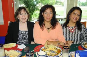 12122015 Laura, Luz María e Irma.