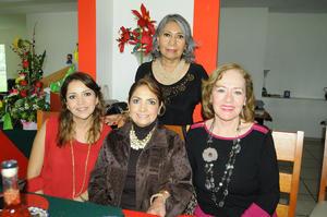 12122015 Lupita, July, Estelita y Alejandra.