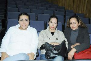 12122015 Aschanty Cardiel, Fabiola Zúñiga y Guadalupe Hernández