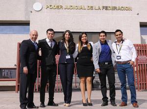 15122015 Gustavo Bogar, Jesús Amezcua, Aimée Rodríguez, Sandra Raquel Trinidad, Humberto Torres y Alejandro Reyes.