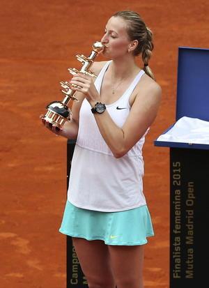 10 de mayo   Tenis. La tenista Petra Kvitova gana el Mutua Madrid Open.