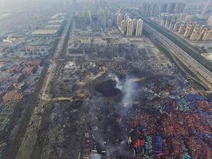 12 de agosto | Explosión. E n la ciudad de Tianjin, China, se produce una fuerte explosión en un puerto de contenedores de la ciudad que dejó 13 muertos y más de 50 heridos.