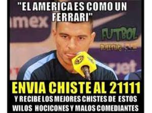 El Club América no podía faltar en el listado debido a que a lo largo del año es objeto de burlas por los seguidores al futbol.