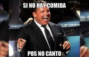 Luis Miguel suspendió dos conciertos en el Auditorio Nacional y los 'memes' no se hicieron esperar.