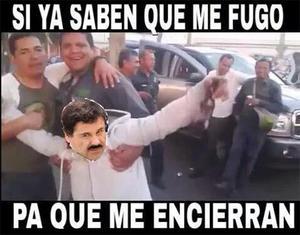 """Los usuarios no perdieron oportunidad para burlarse de la segunda vez que """"El Chapo"""" escapó de la cárcel."""
