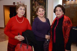 18122015 Ludi, Gloria y Cuquita.
