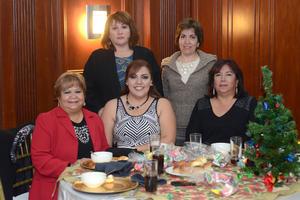 18122015 Blanca, Susana, Guille, Yassmín y Luzma.
