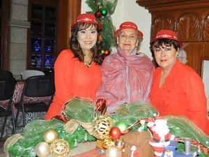 17122015 Alicia, Celia y Mayela.