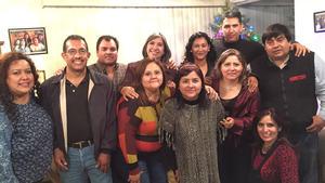 20122015 REUNIóN DE EXALUMNOS.  Excompañeros de la Secundaria Flores Magón generación 1982-1985. En la imagen, se encuentran: Ángeles, Miguel, Modesto, Norma, Paty, Rubén, Julio, Lety, Paty, Lupita y Lety.