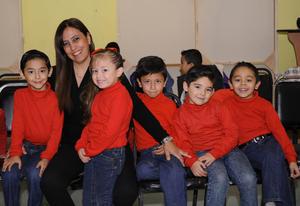 20122015 Lily, Ana Sofía, Ana Elisa, Zamara, Siara y Andrea.