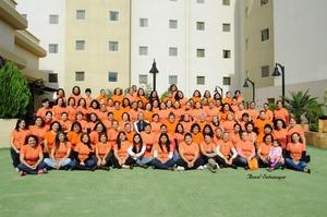 20122015 AMENA REUNIóN.  Mujeres de la Iglesia Shalom disfrutaron una conferencia a cargo de Wandita Tirado.