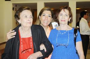 20122015 CONVIVEN.  Nora, María Luisa y María del Carmen.