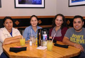 20122015 GRATOS MOMENTOS.  Ana Laura, Karla, Raquel y Jesús.
