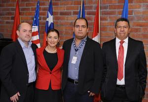 20122015 Jaime Carrillo, Damaris Hernández, Carlos Mejía y Armando Herrera.