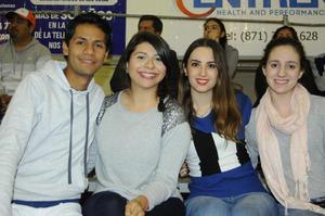 22122015 Ana Sofía, Claudia, Valeria, Alejandra y Nicolás.
