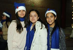 23122015 Valeria, Isabella y Mariana.