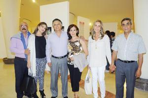 23122015 RECIENTE EVENTO SOCIAL.  Antonio, Ana, Paco, Paty, Carmen y Pepe.