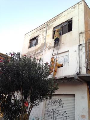 Se reportó el incendio de cinco viviendas, una de ellas en el ejido San Ignacio.