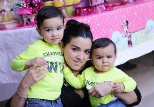 Daniel, Daniela y Diego