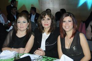 Andrea, Lily y Sandra