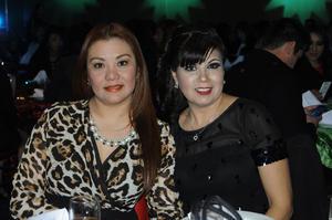 Aída Arreguín y Perla Fuentes
