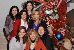 Mónica, Yadira, Rocío, Bety, Sory, Yvonne y Adriana