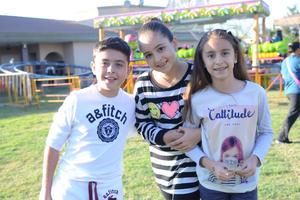 Rodrigo, Alejandra y Constanza