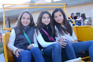 Sofía, Pamela y Valeria