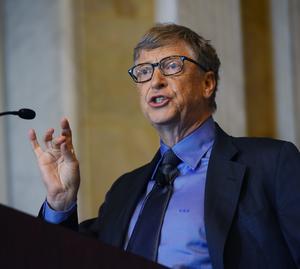 Bill Gates fue el quinto hombre más admirado por el pueblo estadounidense.