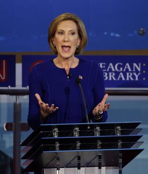 Carly Fliorina, precandidata republicana, terminó como la quinta mujer más admirada por los estadounidenses.