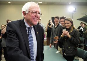 Bernie Sanders, contendiente a la presidencia de EU por el partido demócrata, ocupó el cuarto lugar del conteo Gallup.