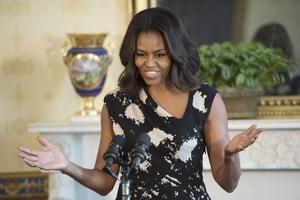 La primera dama de Estados Unidos, Michelle Obama, quedó en la cuarta posición de las mujeres más admiradas.