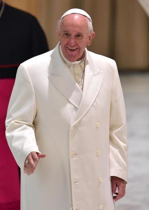 El Papa Francisco ocupó el segundo lugar de los hombres más admirados por ciudadanos estadounidenses.