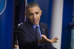 El presidente de Estados Unidos, Barack Obama, fue el hombre más admirado por los estadounidenses.