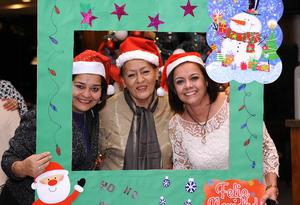 25122015 Betty, Rosy y Estela.