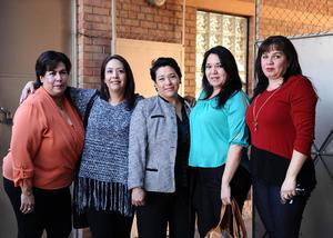 29122015 Beatriz, Dora, Leticia, Karen y Mariana.