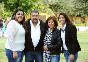 26122015 Karen, Gerardo, Irma y Paola.