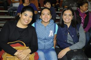 29122015 Mariana Arratia, Claudia Fierro y Rocío Salvarrey.