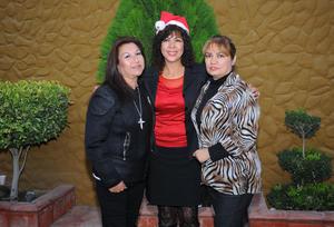 30122015 Leonor, Margarita y Zely.
