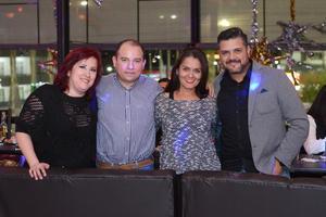 31122015 Verónica, Tito, Sandy y Either.
