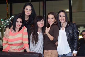 31122015 Rosaura, Alejandra, Elizabeth, Marisol y Laura.