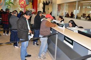 El tesorero municipal espera que se recauden 282 millones de pesos de Impuesto Predial .