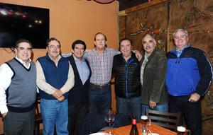 02012016 Alberto Díaz de León, Lázaro Bello, Fermín Torre, Elías Quezada, Carlos Román, Luis Del Moral, Agustín Anaya y José Jiménez.