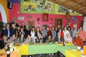 03012016 REUNIóN FAMILIAR.  Integrantes de la Familia Salas disfrutaron de buenos momentos en la convivencia  realizada  con motivo de la Navidad.
