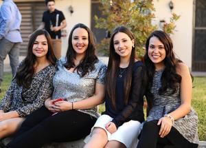 02012016 Ana Paula, Sofía, Luisa y Andrea.